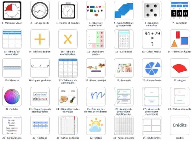 34outils